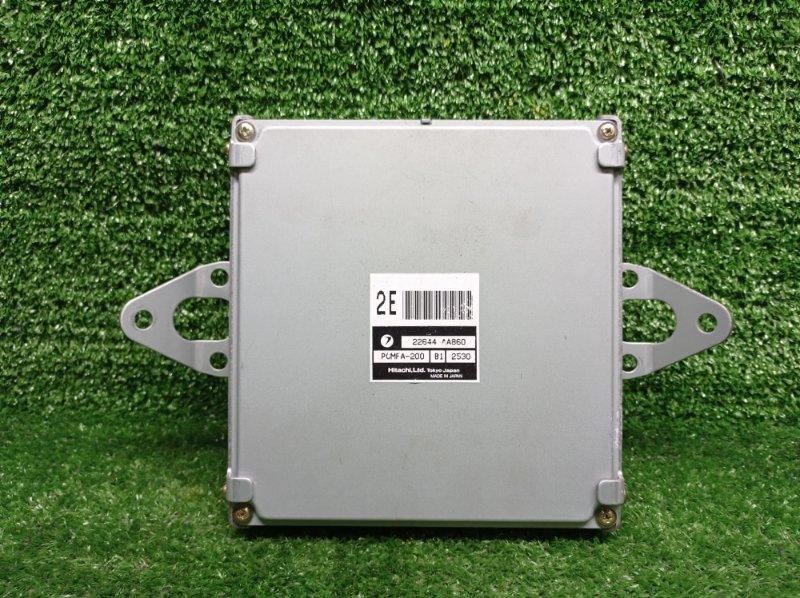 Блок управления efi Subaru Forester SG5 EJ202 (б/у) 22644 AA860