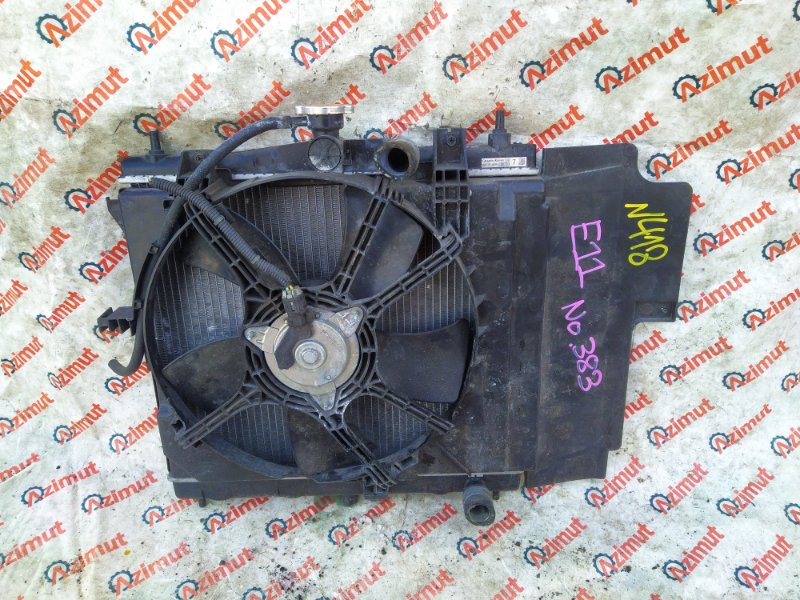 Радиатор основной Nissan Note E11 HR15DE 2010 (б/у)