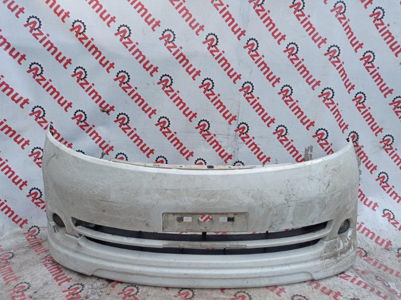 Бампер Nissan Serena C25 MR20DE 2006 передний (б/у) 918/2