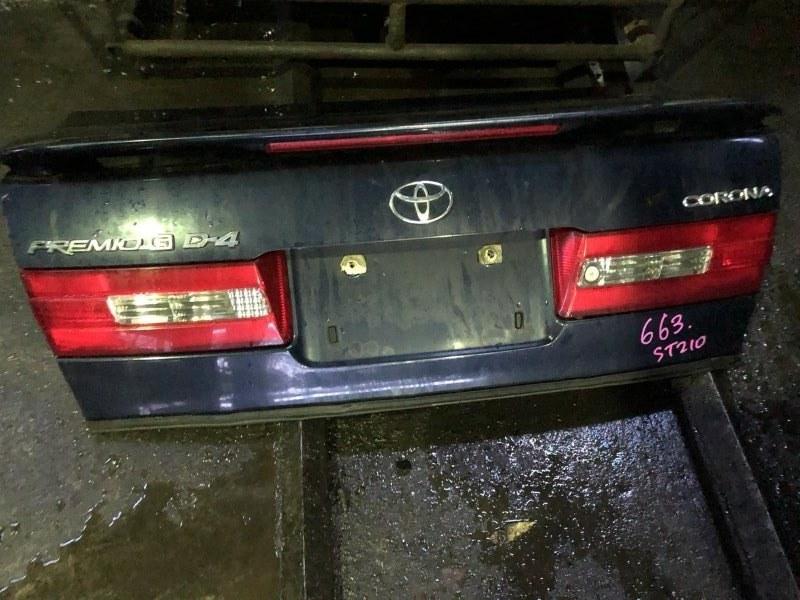 Крышка багажника Toyota Corona Premio ST210 3SFSE 2000 (б/у)