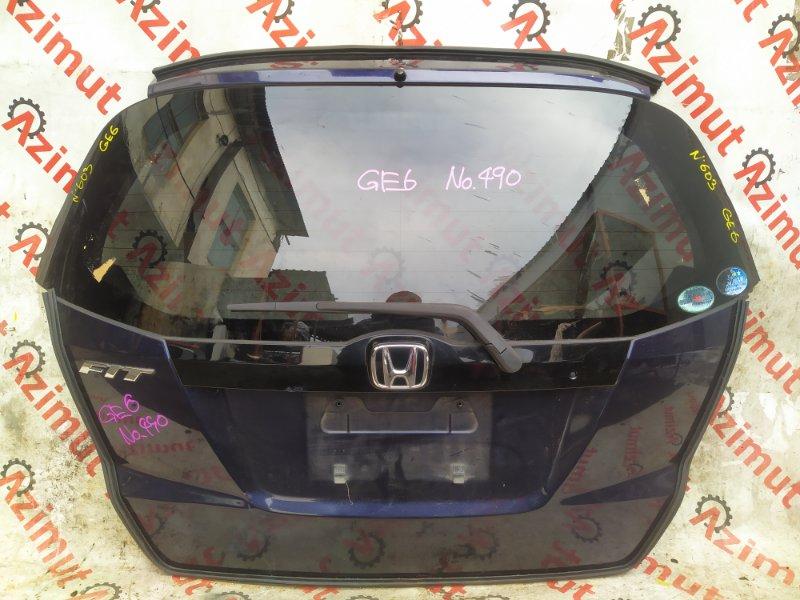 Дверь задняя Honda Fit GE6 L13A 2009 (б/у)