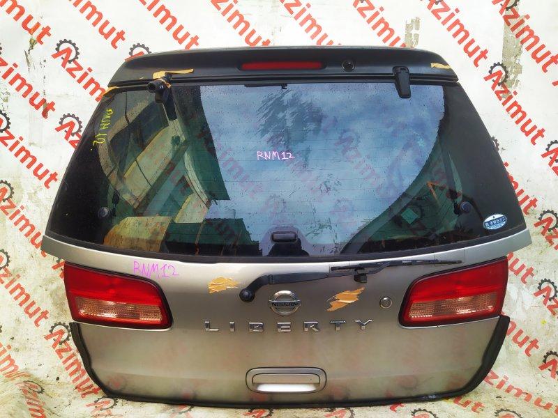 Дверь задняя Nissan Liberty RNM12 QR20DE 2002 (б/у)