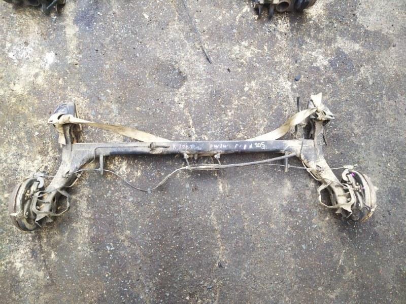 Балка подвески Mazda Demio DW3W B3 1996 задняя (б/у)