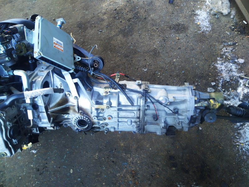 Мкпп Subaru Impreza GG3 EJ152DW 2003 (б/у) TY754VU5AA