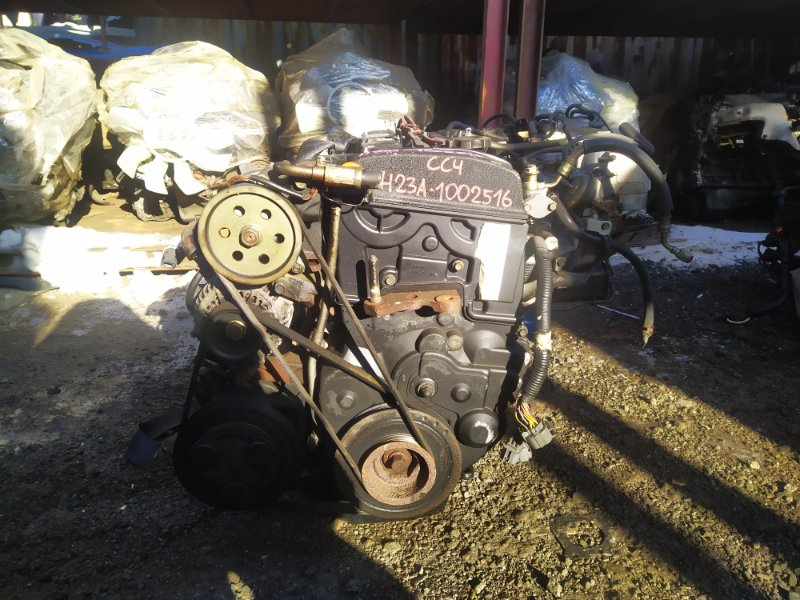 Двигатель Honda Ascot Innova CC4 H23A 1992 (б/у) 1002516