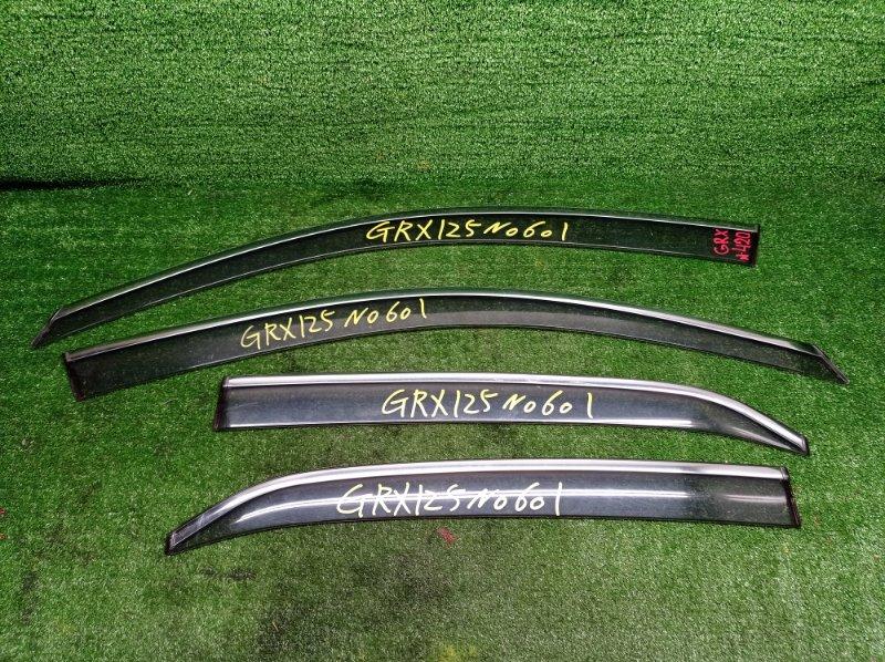 Ветровики комплект Toyota Mark X GRX125 4GRFSE 2008 (б/у)