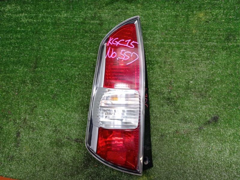 Стоп-сигнал Toyota Passo KGC15 1KRFE 2005 левый (б/у)