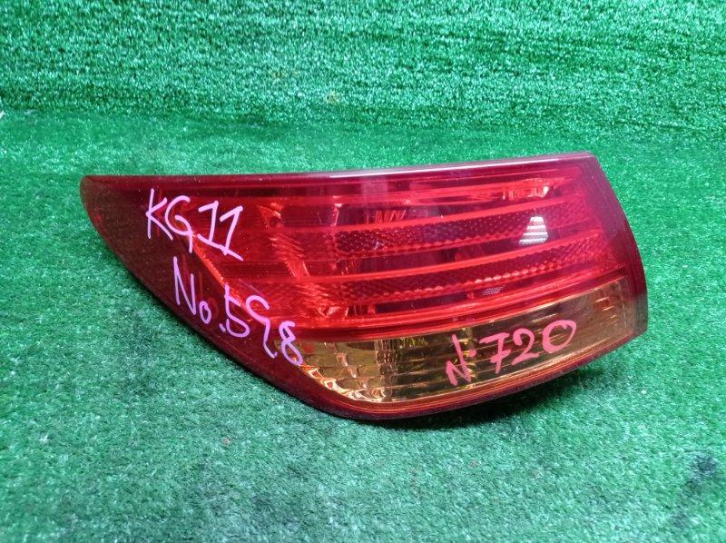 Стоп-сигнал Nissan Bluebird Sylphy KG11 MR20DE 2006 левый (б/у)