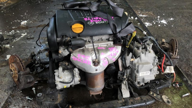 Двигатель Opel Astra L35 Z18XE 26.10.2005 (б/у)