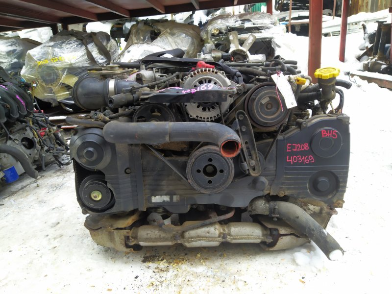 Двигатель Subaru Legacy BH5 EJ208DW 1998 (б/у) 403169