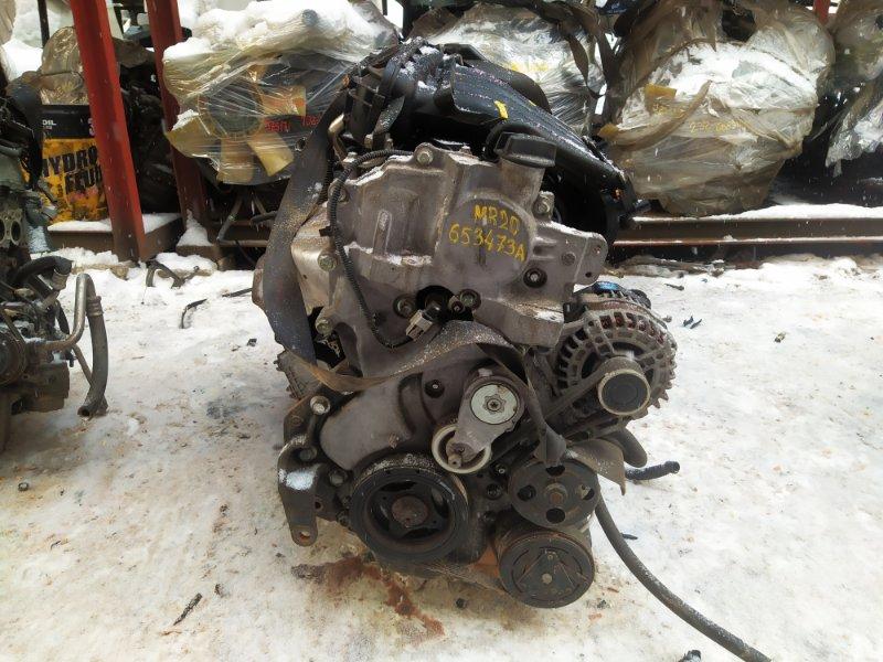 Двигатель Nissan Lafesta B30 MR20DE 2008 (б/у)