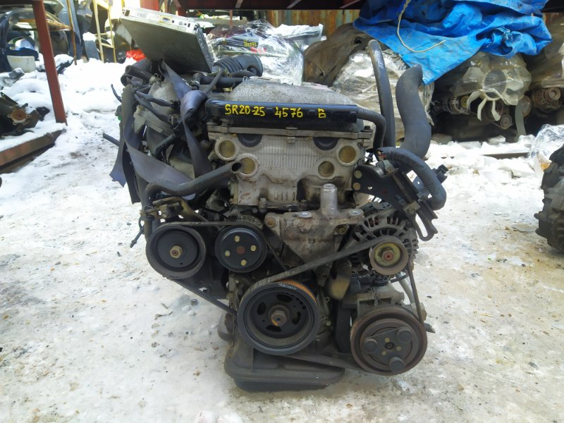 Двигатель Nissan Liberty PM12 SR20DE 2000 (б/у)