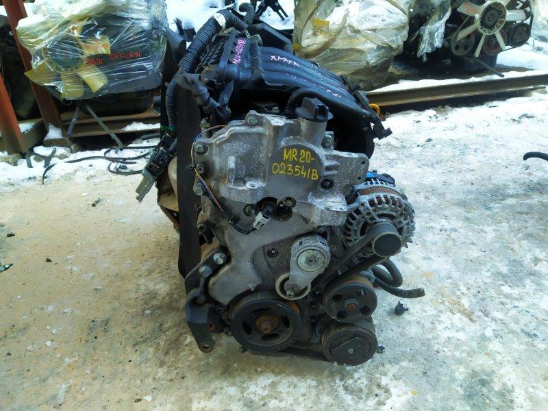 Двигатель Nissan Lafesta B30 MR20DE 2010 (б/у)