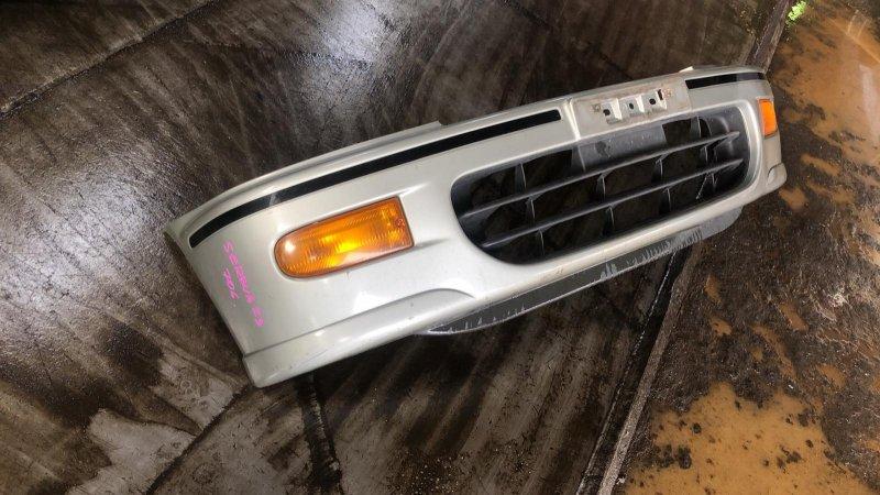 Бампер Nissan Serena KVNC23 CD20ET 1997 передний (б/у)