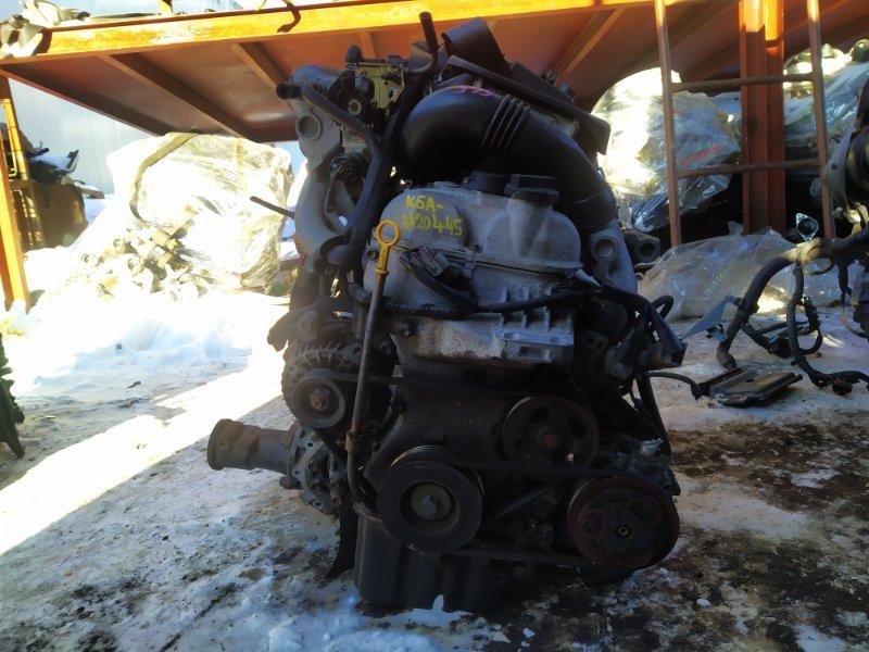 Двигатель Suzuki Kei HN22S K6A-T 2005 (б/у) 3420445