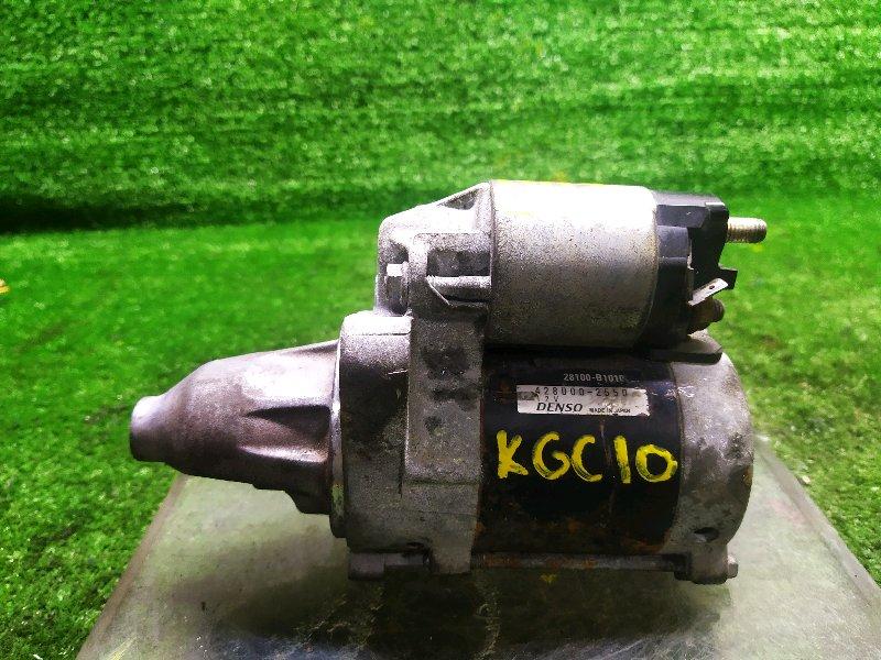 Стартер Toyota Passo KGC10 1KRFE 2006 (б/у)