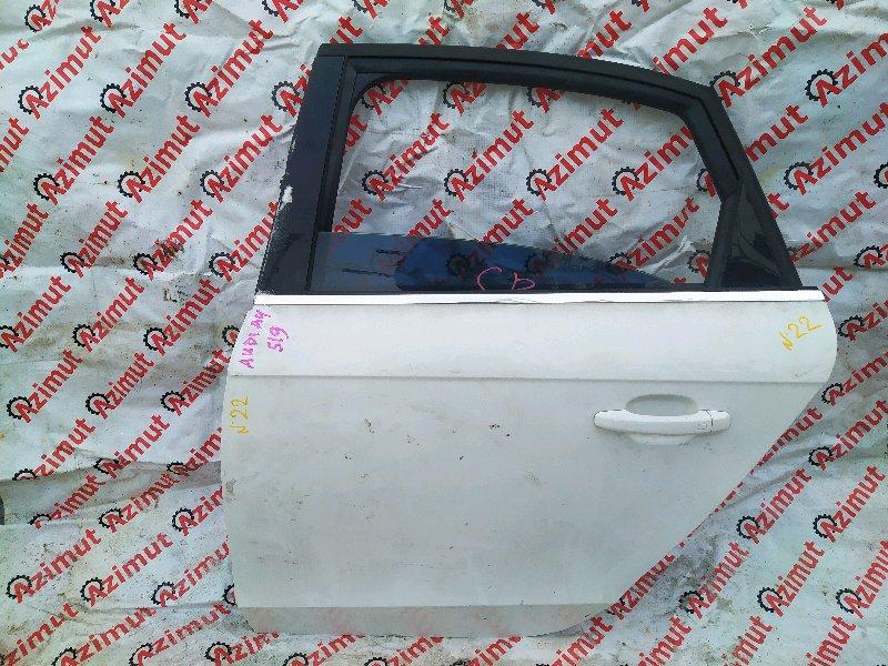 Дверь Audi A4 8K2 CDNC 2009 задняя левая (б/у)