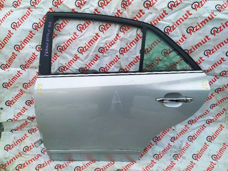Дверь Toyota Premio ZRT260 2ZRFE 2008 задняя левая (б/у)