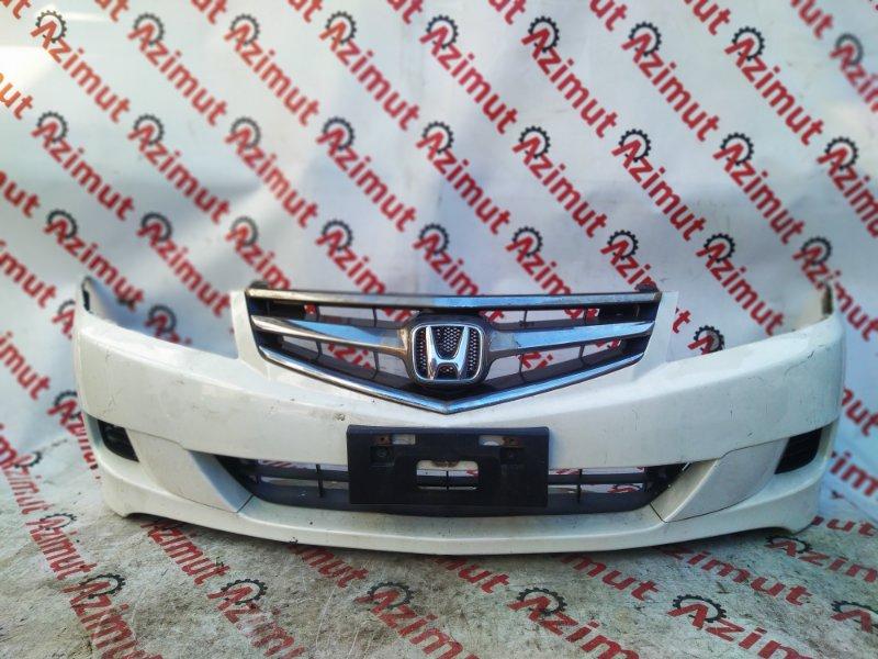 Бампер Honda Accord CL7 K20A 2006 передний (б/у)