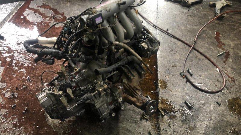 Двигатель Toyota Corsa EL55 5EFE 06.1996 (б/у)