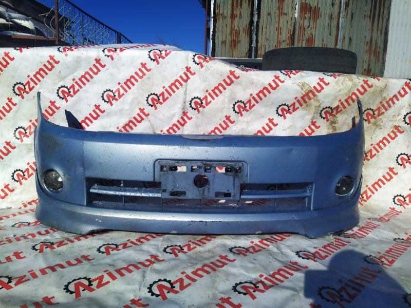 Бампер Nissan Lafesta B30 MR20DE 2005 передний (б/у)
