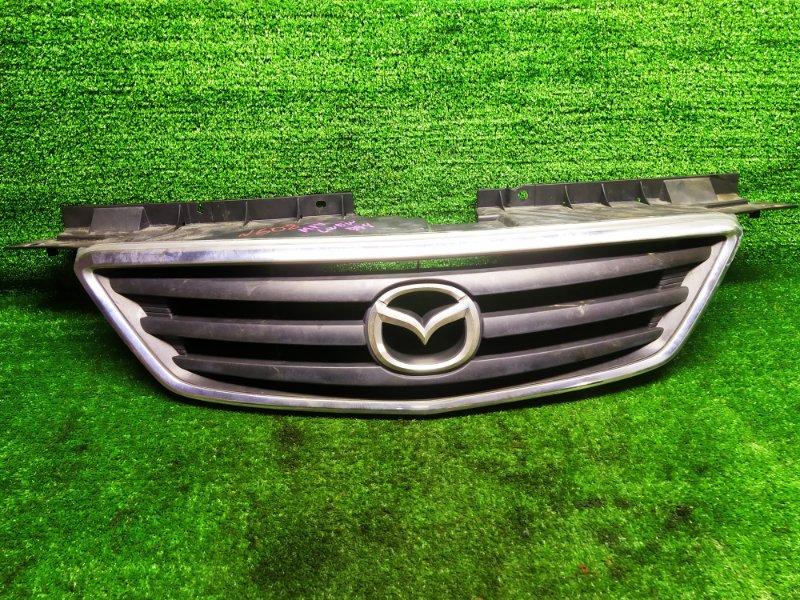 Решетка радиатора Mazda Mpv LWEW FS 2000 (б/у)