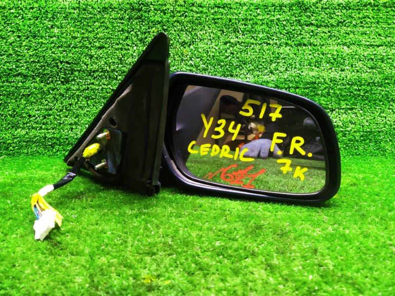 Зеркало Nissan Cedric ENY34 RB25DET 2002 правое (б/у)