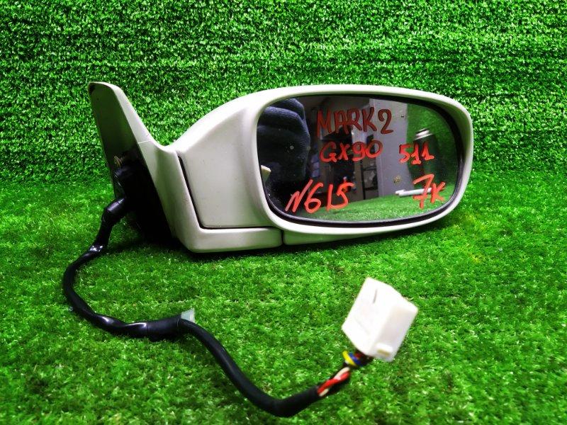 Зеркало Toyota Mark Ii GX90 1G-FE 1996 правое (б/у)