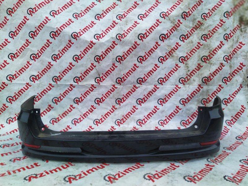 Бампер Nissan Wingroad NY12 HR15 2006 задний (б/у)