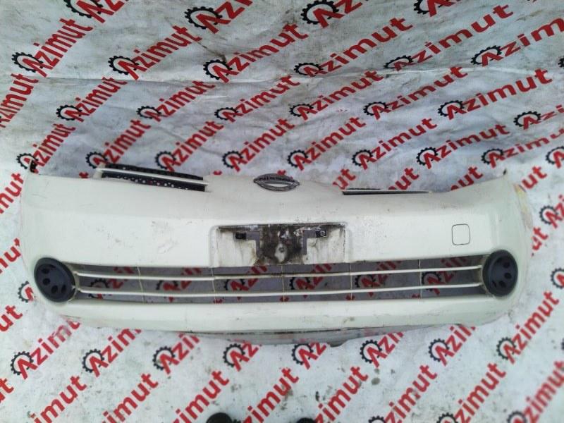 Бампер Nissan Note E11 HR15DE 2005 передний (б/у)