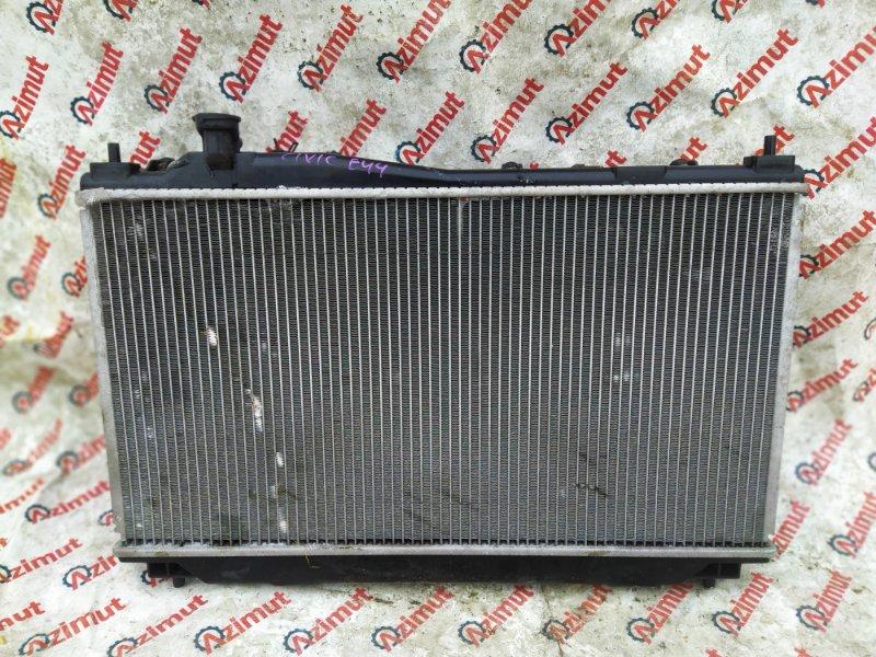 Радиатор основной Honda Civic EU4 D17A 2001 (б/у)