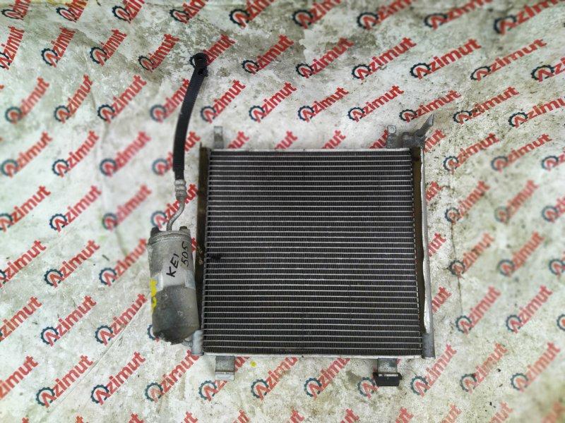 Радиатор кондиционера Suzuki Kei HN22S K6A-T 2005 (б/у)