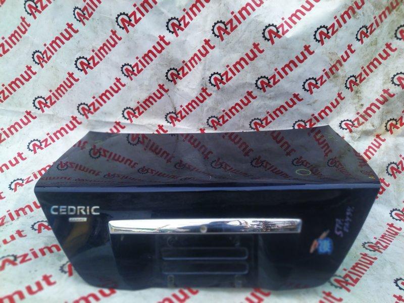 Крышка багажника Nissan Cedric ENY34 RB25DET 2002 (б/у)