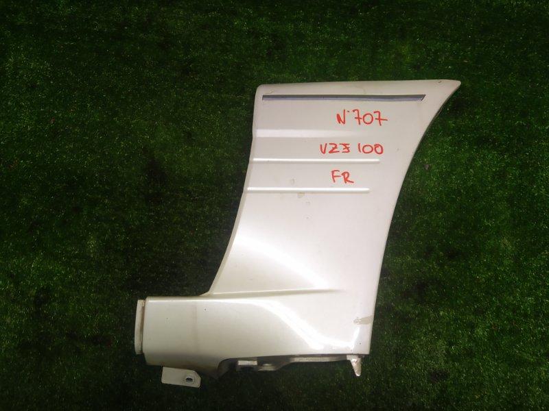 Накладка на крыло Toyota Land Cruiser UZJ100 2UZFE 2000 передняя правая (б/у)