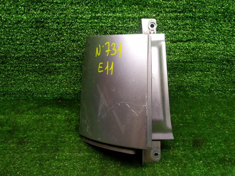 Планка под стоп Nissan Note E11 HR15DE 2006 задняя левая (б/у)