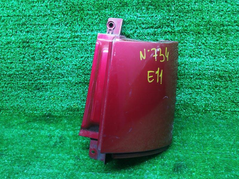 Планка под стоп Nissan Note E11 HR15DE 2006 задняя правая (б/у)