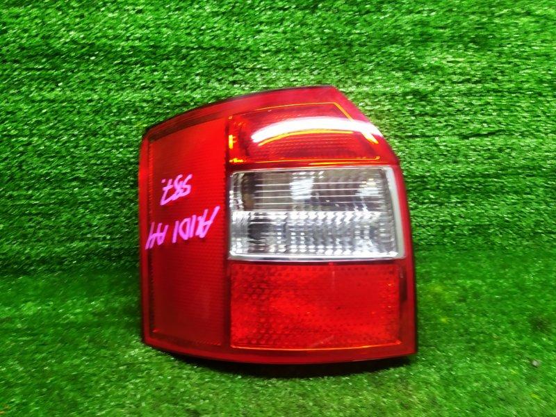 Стоп-сигнал Audi A4 B6 AMB 2003 левый (б/у)
