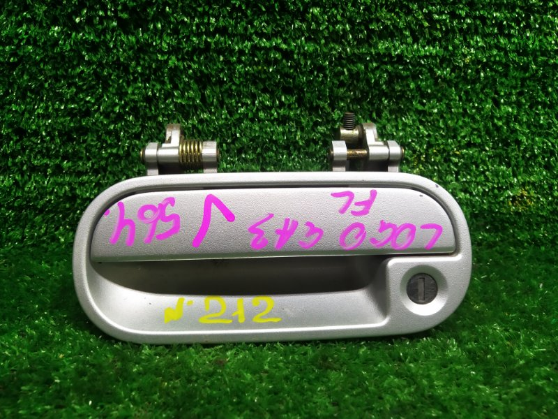 Ручка двери внешняя Honda Logo GA3 D13B 1999 левая (б/у)