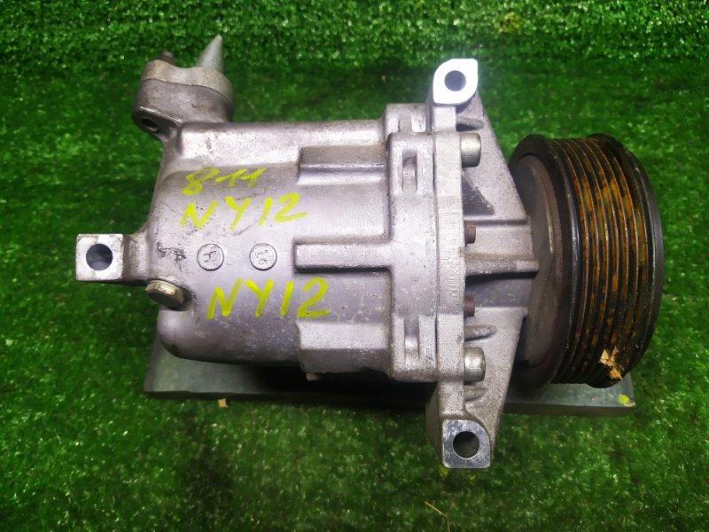 Компрессор кондиционера Nissan Wingroad NY12 HR15DE 2006 (б/у)