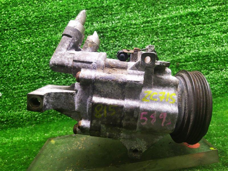 Компрессор кондиционера Suzuki Swift ZC71S K12B 2008 (б/у)