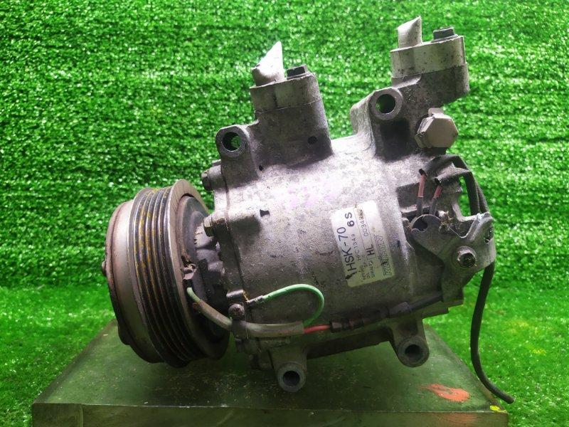 Компрессор кондиционера Honda Fit GE6 L13A 2007 (б/у)