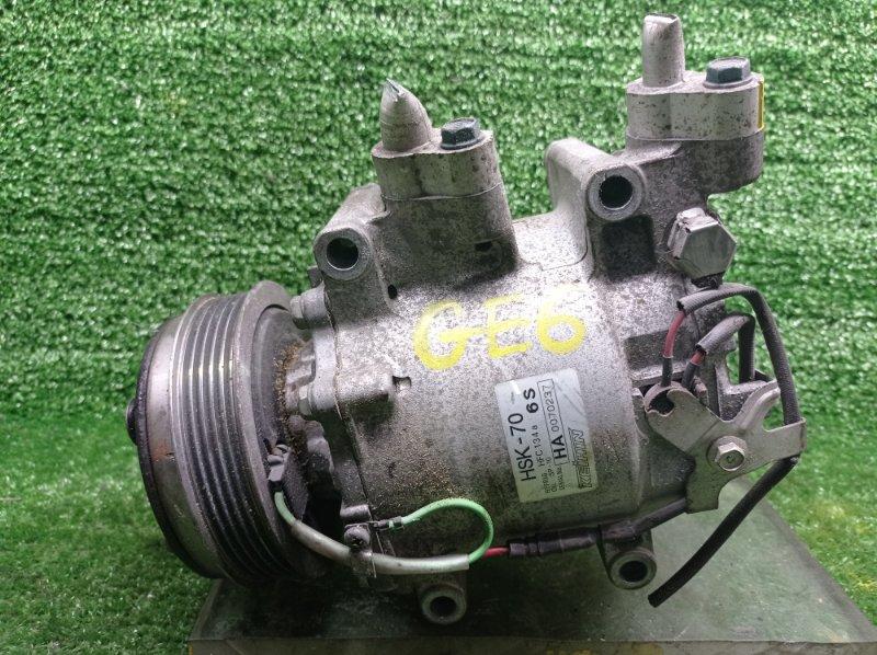 Компрессор кондиционера Honda Fit GE6 L13A 2008 (б/у)