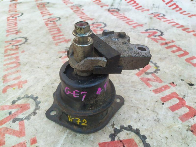Подушка двигателя Honda Fit GE7 L13A 2007 правая (б/у)