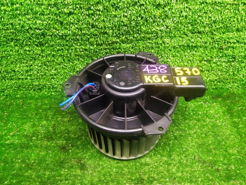 Мотор печки Toyota Passo KGC15 1KRFE 2007 (б/у)