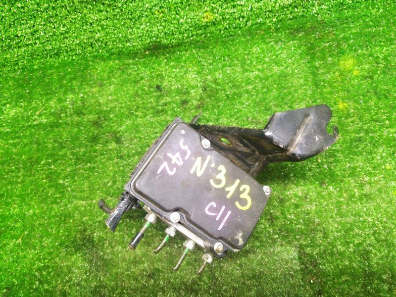 Блок abs Nissan Tiida C11 HR15DE 2009 (б/у)