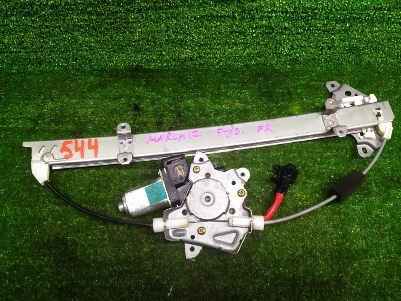 Стеклоподъемник Nissan March AK12 CR12DE 2005 передний правый (б/у)