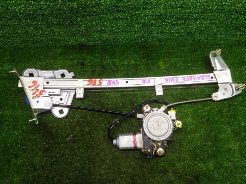 Стеклоподъемник Mitsubishi Diamante F41A 6G73 2002 передний правый (б/у)