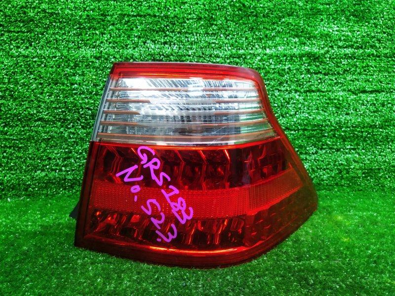 Стоп-сигнал Toyota Crown GRS183 3GRFSE 2006 правый (б/у)