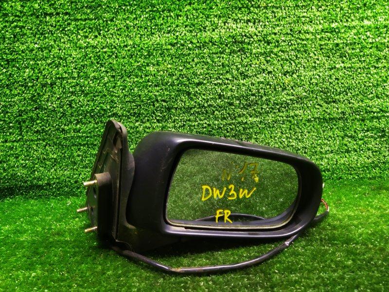 Зеркало Mazda Demio DW3W B3 1996 правое (б/у)