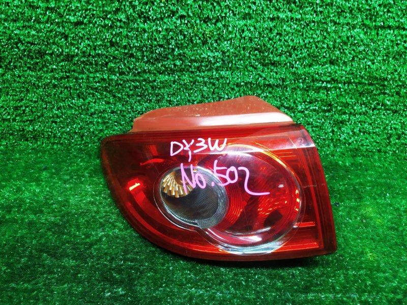 Стоп-сигнал Mazda Demio DY3W ZJVE 2006 левый (б/у)